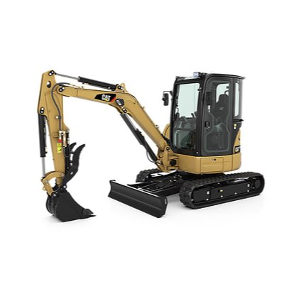 Mini Excavator - Construction debris removal