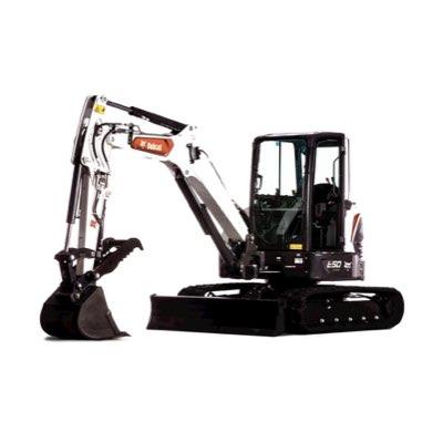 Bobcat E50 - For demolition